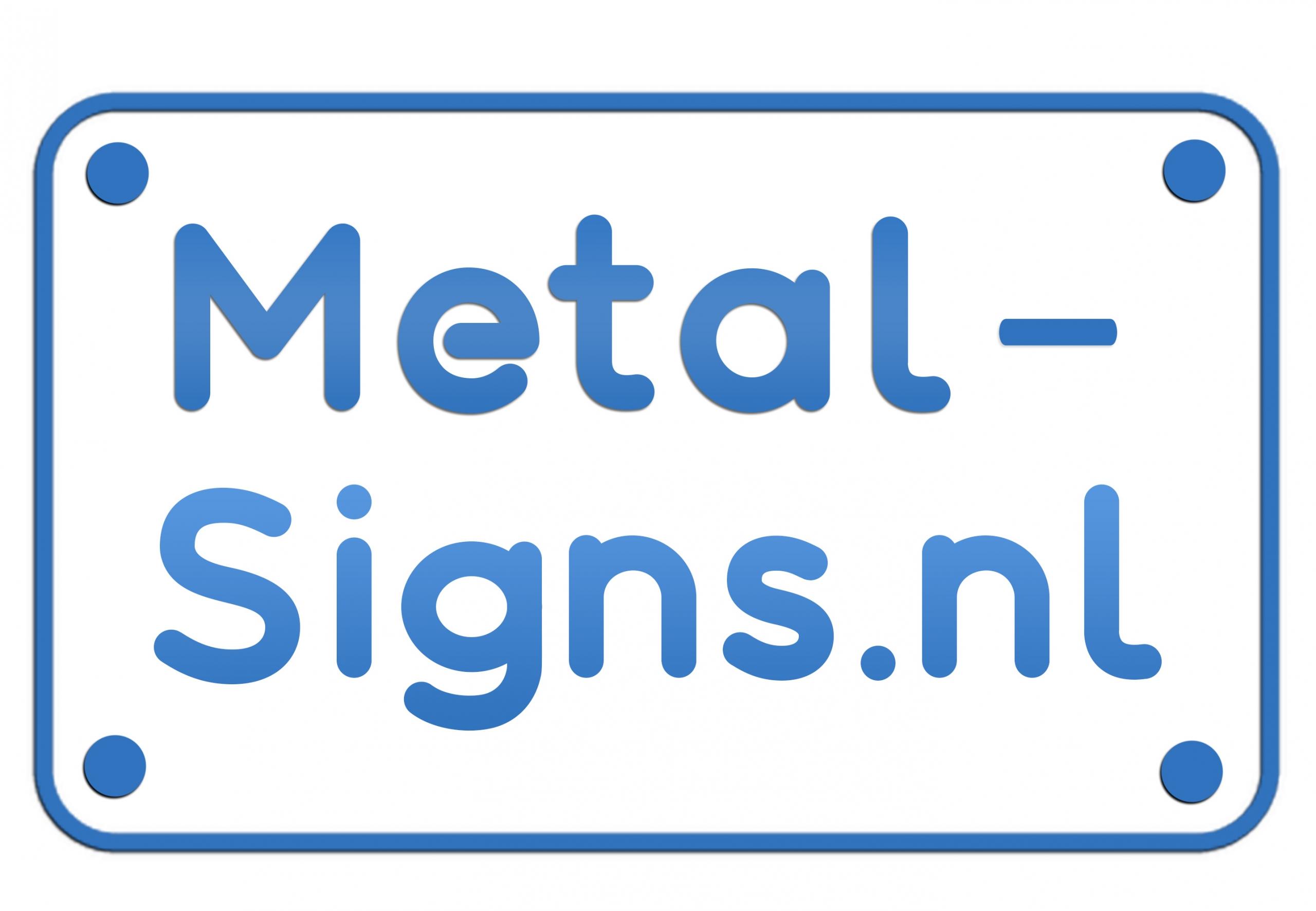 Metal-signs